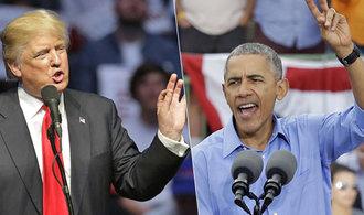 Trump zaútočil na Obamu: Během volební kampaně mě odposlouchával