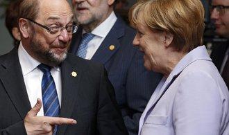 Schulz obvinil Merkelovou z útoku na demokracii. Je to od něj velice zoufalé, zní z tábora CDU