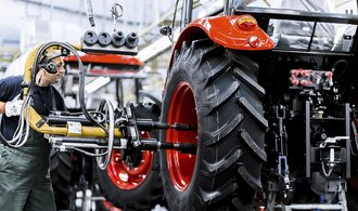 Zetor se drží osmý rokem v zisku, loni prodal tři tisíce traktorů