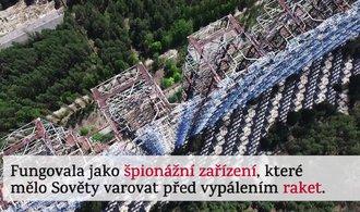Očima E15: s dronem nad Černobylem. Létali jsme nad tajemným radarem u sarkofágu