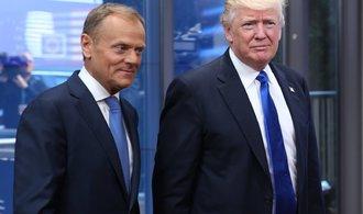 Trump se na jednání s Tuskem neshodl na postoji k Rusku