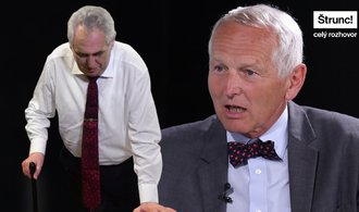 Zeman patří do invalidního důchodu, neměl by kandidovat, analyzuje kardiochirurg Pirk