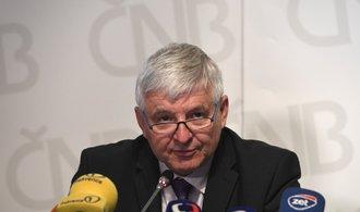 Centrální banka chce silnější korunu. Další zvýšení sazeb může přijít brzy, tvrdí Rusnok
