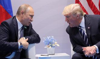 Trump vyslal jasný vzkaz Putinovi: Než se vyřeší Sýrie a Ukrajina, protiruské sankce nezmizí