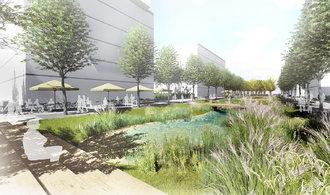 Developeři v Praze nebudují jen beton. Územní plány je tlačí ke zřizování rozsáhlých zelených ploch
