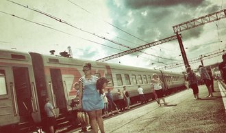 This is how they drive on the Trans-Siberian highway.  See what you can experience on the world's longest railway