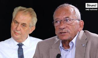 I když Zeman vyhraje, funkce se pak dobrovolně vzdá, míní Jaroslav Kubera