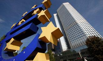 Rychlejšímu růstu sazeb brání Evropská centrální banka