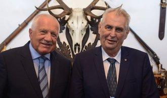 Zeman o vztahu Česka a Slovenska: Žádné trhliny neexistují, stali jsme se členy evropské rodiny