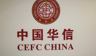 Čínské investiční impérium CEFC krvácí, hodnota jeho akcií prudce klesla