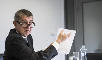 Babiš kritizuje čerpání z evropských fondů