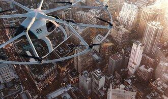 V Dubaji proběhl první test létajícího bezpilotního taxíku na elektriku