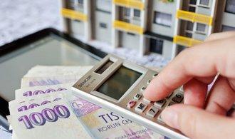 Průměrná sazba hypoték dál povylezla