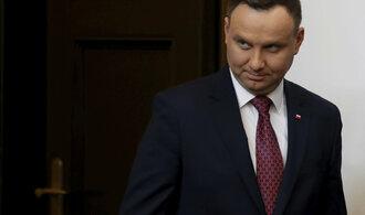 Německo se snaží ovlivnit volbu prezidenta Polska, tvrdí Duda