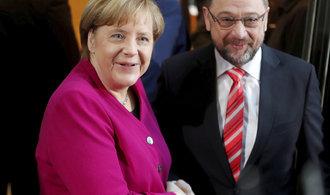 Vyjednávání o nové německé vládě výrazně pokročilo
