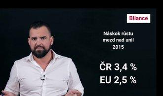 Bilance: Dohánění Západu? Unijní mzdy jsou pro Česko stále jen fantazií