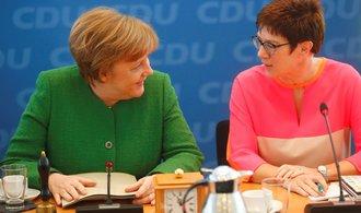 Zástupci CDU/CSU a SPD podepsali koaliční smlouvu