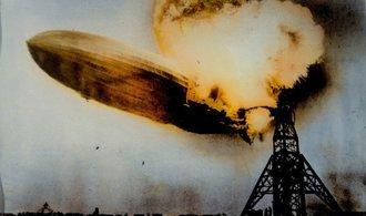 Hindenburg slaví výročí. Slavná vzducholoď poprvé vzlétla před 82 lety