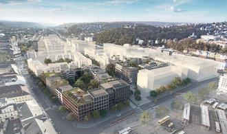 Výstavba nové čtvrti naSmíchově se přiblížila