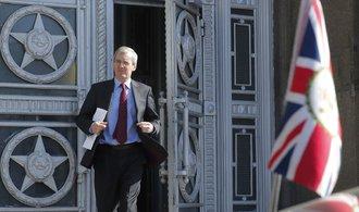 Rusové chtějí stažení dalších 50 britských diplomatů