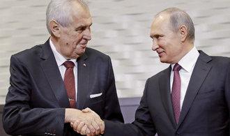 Bez Rudé armády bychom se nestali nezávislým a sebevědomým národem, napsal Zeman Putinovi