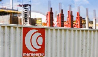 Metrostavu klesl zisk o více než pětinu