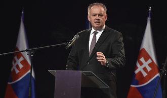 Slovenský prezident Andrej Kiska nebude usilovat o své znovuzvolení
