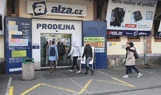 Obrat internetové jedničky Alza.cz skončil loni těsně pod třiceti miliardami