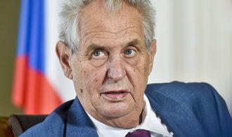 Bombardování Jugoslávie byla chyba, přiznal Zeman