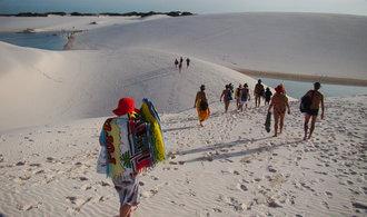 Baťůžkáři objevují místa pro masový turismus