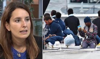 Itálie si polohu nevybrala, s migranty potřebujeme pomoci, vzkazuje europoslankyně Babišovi