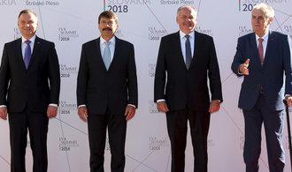 Kiska: Prezidenti zemí Visegrádské čtyřky se shodli, že Evropská unie je úžasný projekt