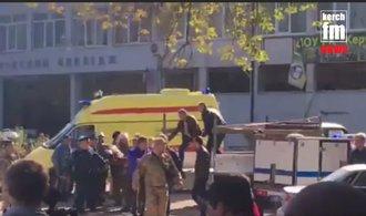 Výbuch ve škole v krymské Kerči si vyžádal mrtvé a desítky zraněných