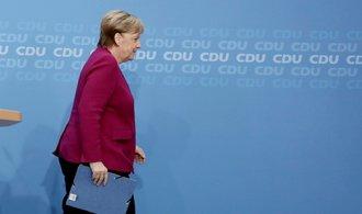Merkelová varovala před nejednotou, rozloučila se s vedením CDU