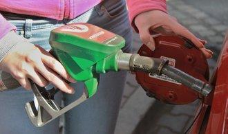 Průměrná cena benzinu stoupla za poslední týden o 31 haléřů