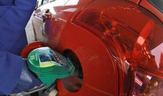 Pohonné hmoty opět zdražily, benzin o desítky haléřů