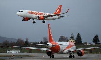 Dobře se nám daří, hlásí aerolinky EasyJet. Tržby se jim propadly o 99,6 procenta