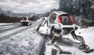 Nový koncept od Hyundai: Elektromobil, který má kromě kol i robotické nohy