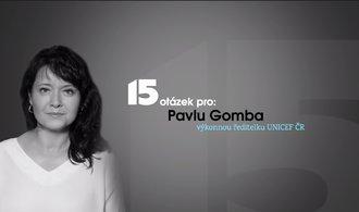 15 otázek pro: Každý problém má své řešení, říká ředitelka českého UNICEF Pavla Gomba
