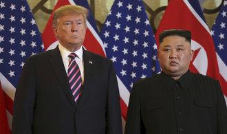 Jednání Trumpa s Kim Čong-unem skončilo předčasně a bez dohody
