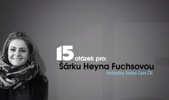 15 otázek pro: Začínala jsem s malým fiatem, prozradila šéfka Volva v Česku Šárka Heyna Fuchsová