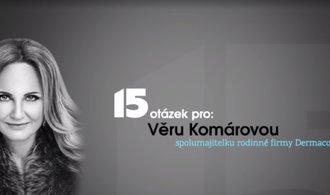 Inspirace ke mně přichází ve vaně, říká spolumajitelka Dermacolu Věra Komárová