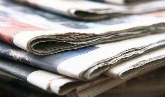 Polské noviny vyšly s prázdnou titulní stránkou. Bojují tak za změnu autorských práv