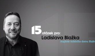 Módní průmysl je extrémně turbulentní, říká Ladislav Blažek