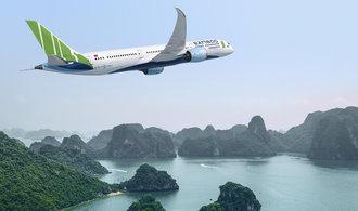 Bamboo Airways chce po Letišti Praha lepší časy pro odlety do Vietnamu. Ne ty v brzké ráno a večer