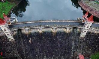 Dron E15: prohlédněte si jednu z nejhezčích českých přehrad z nové perspektivy