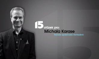 Rodina a rodinné zázemí je to nejcennější co mám, říká šéf Herbadentu Michal Karas