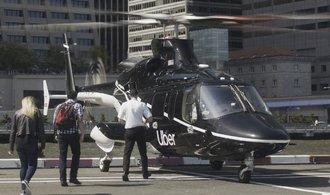 Uber míří do vzduchu. V New Yorku nabídne přepravu vrtulníkem