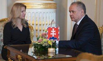 Nová slovenská prezidentka Zuzana Čaputová složila slib a ujala se úřadu