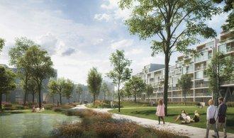 Nová tvář Žižkova. Byty u nákladového nádraží navrhnou Pentě Nizozemci, podívejte se